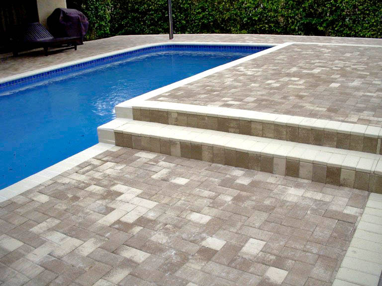 What Is A Decorative Pool Deck