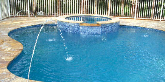 Pool Remodeling In Miami Florida With Brick Amp Travertine